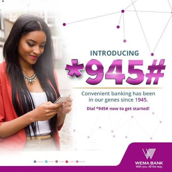 wema bank ussd code