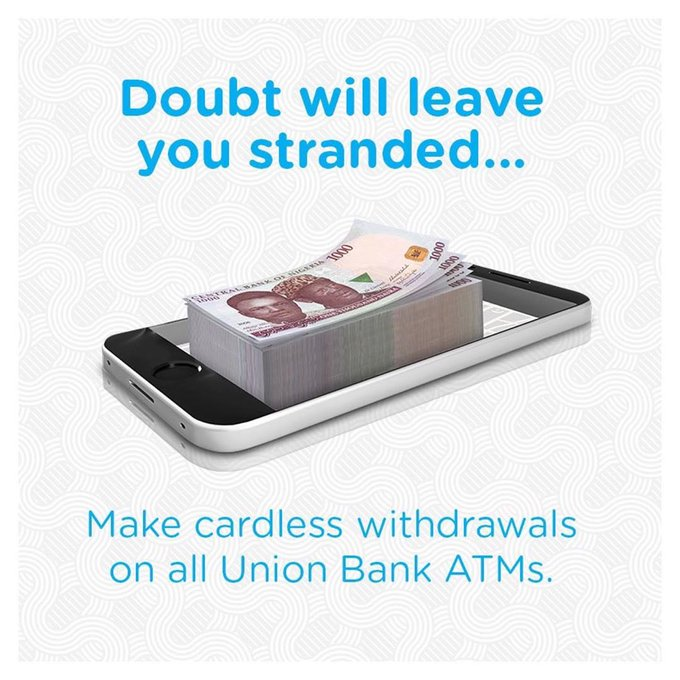 Union Bank Cardless withdrawal service