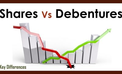 Difference Between company Shares and Debentures