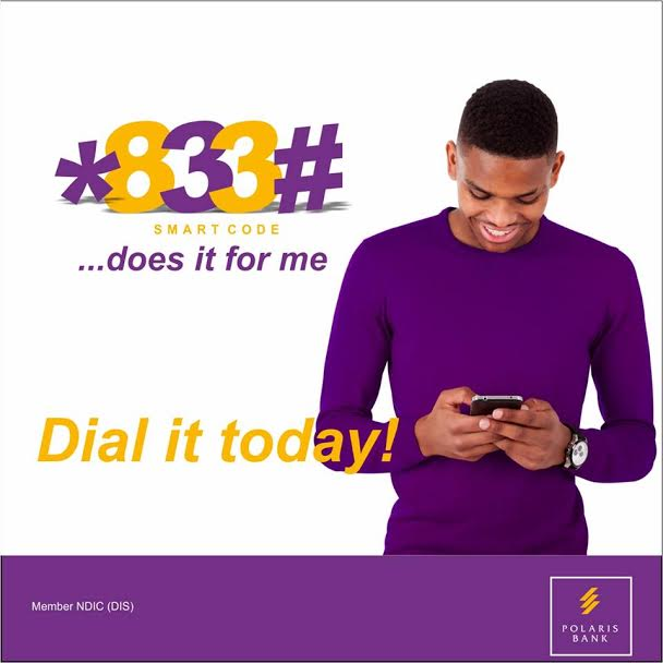 polaris bank ussd code