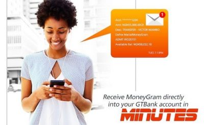 how to receive MoneyGram and Western Union Funds directly into GTBank account via ATM or Internet Banking platform