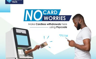 keystone bank cardless withdarwal