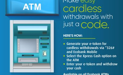 Eco Bank Cardless Withdrawal