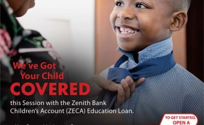 zenith bank child education loan