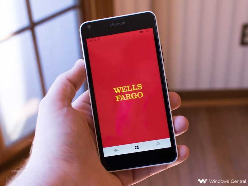 Wells Fargo Online banking and Mobile App