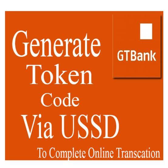 gtbank token code