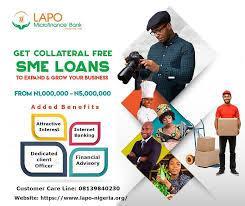 lapo microfinace bank loan