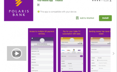 Polaris bank mobile app and internet banking
