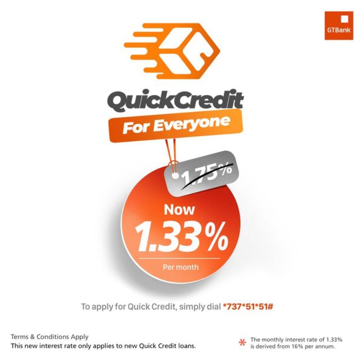 Gtbank QuickCredit