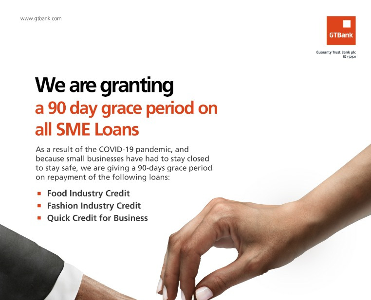 Gtbank QuickCredit for Small Business