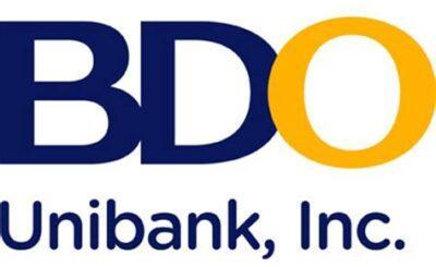 BDO Unibank Philippines SME loan