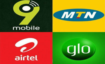 Borrow data from MTN, Glo,Airtel and 9mobile/Etisalat